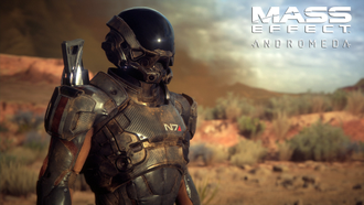 Игра Mass Effect Andromeda для Playstation 4
