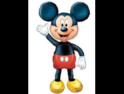 ходячий шар Фигура Микки Маус (132см)