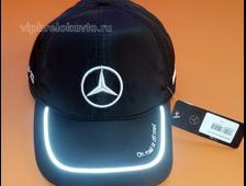 Бейсболка с логотипом Mercedes (зима)