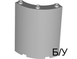! Б/У - Cylinder Quarter 4 x 4 x 6, Light Bluish Gray (30562 / 4224802 / 4299371 / 4631286) - Б/У
