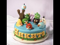 Детские торты ( с мастикой)