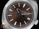 Overseas Automatic SS Brown Dial