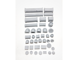 Pipes kit (unpainted)