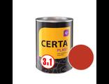 Грунт-эмаль Церта-Пласт «3 в 1» ярко-красный 0,8 кг