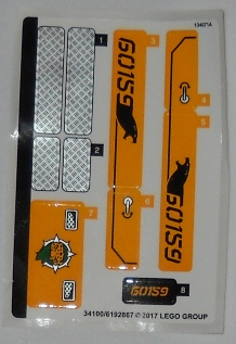 Sticker for Set 60159 - 34100/6192867, n/a (60159stk01)