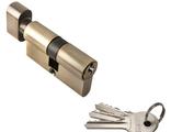 Ключевой цилиндр RUCETTI с поворотной ручкой (60 мм) R60CK AB Цвет Античная бронза