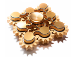 Спинер 9 Gear Hand Spinner Gold