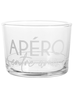 стакан TUMBLER APERO BODEGA WHITE 20CL GLASSарт.32199
