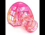 Детская игровая палатка-домик Дисней WINX с тоннелем в сумочке