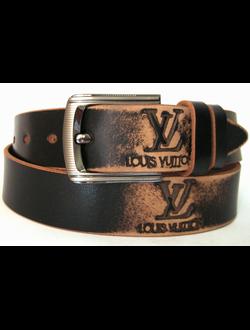 """Louis Vuitton"" (Луи Виттон) ремни мужские кожаные"