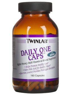 TwinLab Daily One Caps with Iron (180 кап.)