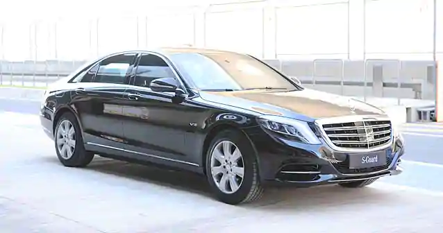 Factory armored Mercedes-Benz S600 V222 Guard VR9 (with integrated special protection from MB Guard), 2019-2020 YP