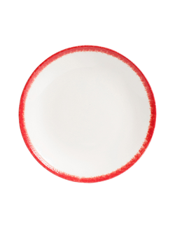 PLATE SOLAE RED
