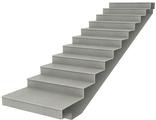 Ступени и лестницы из агломерата натурального камня