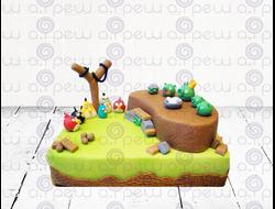 """Торт № 18 """"Angry Bieds 2"""" (Детские торты)"""