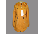 Женская весенняя куртка оранжевая 002-096