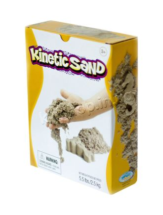 кинетический песок 2,5 кг waba fun kinetic sand