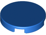 Tile, Round 2 x 2 with Bottom Stud Holder, Blue (14769 / 6133844)