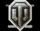 Наклейки WORLD of TANKS - логотип на авто для поклонников и фанатов компьтерной игры. Магазин знаков