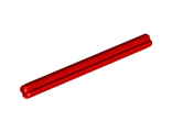 Technic, Axle 6, Red (3706 / 4191526 / 6130002)
