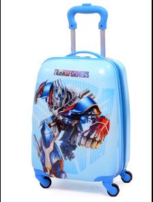 Детский чемодан на 4 колесах Трансформеры Transformers