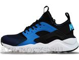NIKE AIR HUARACHE ULTRA Black/Blue (Euro 40-45) HR-092