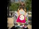 Детский рюкзак мягкая игрушка Ebulobo Козочка Жужу