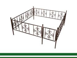 Кованые ограды в Томске. Скидка 5%. Изготовление и установка по приемлемым ценам.
