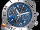 SuperOcan SteelFish Chronograph SS Blue/Black