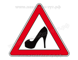 "Знак на авто ""туфелька"" или ""за рулем женщина"" (от 50 руб.) для дам, леди и блондинок за рулем авто"