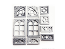 Elven windows v.1 (unpainted)