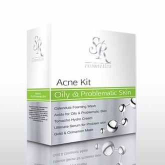Sr cosmetics Acne oily&problematic skin set