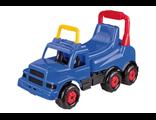 Каталка Машинка детская синяя Весёлые гонки