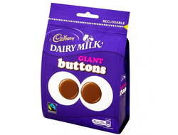 Конфеты Cadbury Dairy Milk Giant Buttons 119г