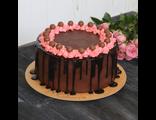 """Торт """"Шоколад - Малина"""" / Raspberry chocolate cake"""