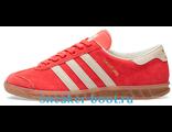 Кеды Adidas Gamburg красные