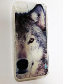Силиконовые чехлы с ювелирной смолой для iPhone 5/5s