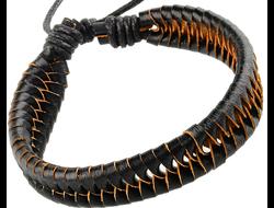 Кожаный браслет 1011