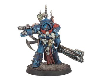NIGHT LORDS PRAETOR IN TARTAROS ARMOUR