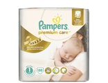 pampers premium care 1 (2-5 кг) 88 шт.