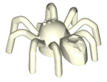 Spider with Elongated Abdomen, Glow In Dark White (29111 / 6218845)