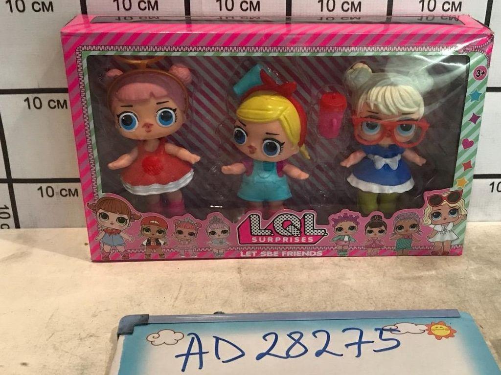 Куколки LOL набор из 3 шт AD28275