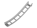Train, Track Roller Coaster Ramp Large Lower Part, 6 Bricks Elevation, Light Bluish Gray (26559 / 6185392)