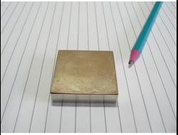 Неодимовый магнит блок-формы 50x50x4
