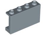 Panel 1 x 4 x 2 with Side Supports - Hollow Studs, Sand Blue (14718 / 6275674)