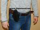 Russian authentic leather belt w/mag wide holster PM, MP-654K, Makarov, Walther PPK BLACK