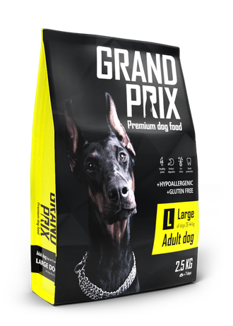 GRAND PRIX LARGE ADULT Сухой корм для собак крупных пород 2,5 кг