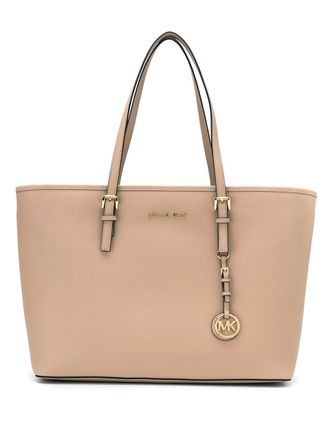Сумка Michael Kors Jet Set Travel Beige / Бежевая