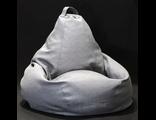 Кресло-груша САВАННА, жаккард однотонный (цвет на выбор)