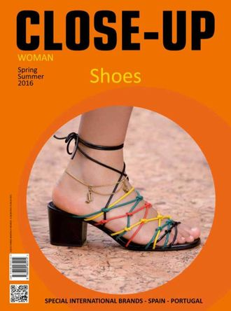 CLOSE-UP SHOES Woman № 24 Spring-Summer 2016 ИНОСТРАННЫЕ ЖУРНАЛЫ О МОДЕ